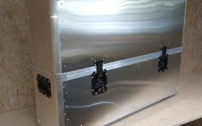 Raw aluminium finish option