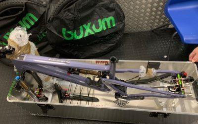 Pritpal's Ventoux MTB in raw aluminium finish for his Santa Cruz 5010